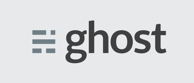 Trying out Ghost